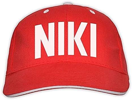 Master Lap Gorra Niki Lauda F1: Amazon.es: Deportes y aire libre