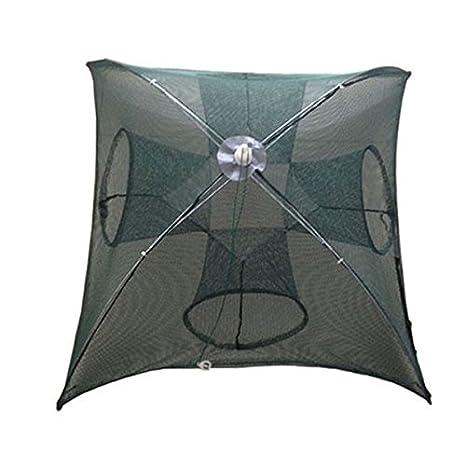 Portable Folded Fishing Net Fish Shrimp Minnow Crab Baits Cast Mesh Trap nikstoreinus