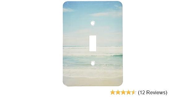 3dRose lsp/_164479/_6  Gentle Ocean Waves Beach Theme Art 2 Plug Outlet Cover