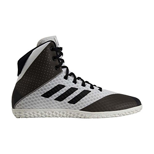 huge discount 7c553 30b35 Galleon - Adidas Mat Wizard 4 Men s Wrestling Shoes, White Black, Size 9