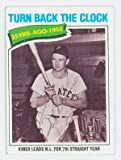 Ralph Kiner AUTOGRAPH d.14 1977 Topps #437 Pittsburgh Pirates Turn Back the Clock