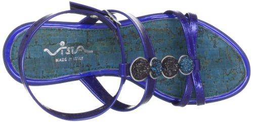 Vista 78-14305-blu - Zuecos para mujer Azul (Blau (Blau))