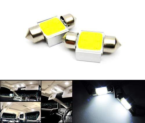 269 1x Green Ultra LED Festoon 31mm 12v Interior Light Bulb