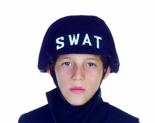 SWAT Helmet Costume Accessory (Swat Team Group Costumes)