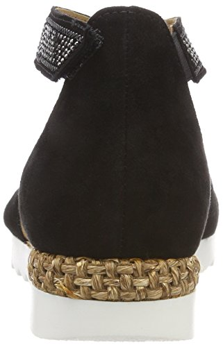 Mujer Sandalia Sport Motiv Negro Comfort Pulsera Gabor Grata para Shoes Schw con wqUWa0