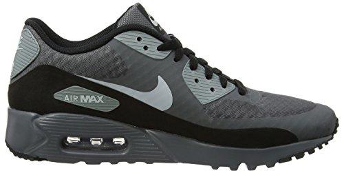 Nike Air Max 90 Hombres De Ultra Esencial, Gris Oscuro / Lobo Gris-gris-negro Fresco, 6,5 M Con Nosotros
