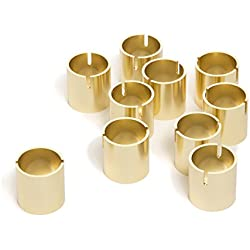 "Darice DTFT30403G Gold Card Holders David Tutera, 10Piece, 1"" Gold Card Holders"