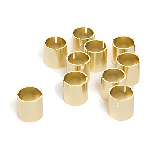 Darice David Tutera, 10 Piece, 1 inch Gold Card Holders