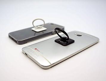 Dedos DUO: Anillo de Soporte Soporte 3 en 1 para smartphones y tablets: Amazon.es: Electrónica