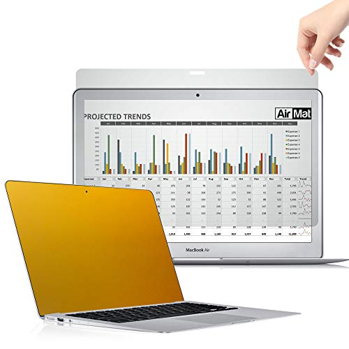 AirMat 13 Inch MacBook Pro Touch Bar Gold Privacy
