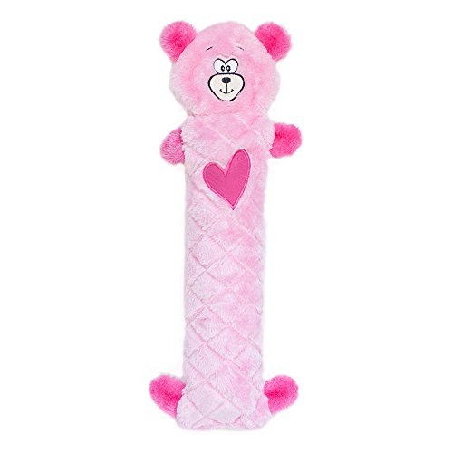 (ZippyPaws ZP658 Jigglerz Bear Squeak Toy,)