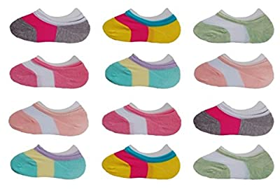 Deluxe Liner No Show Low Cut Cotton Athetic Flats Socks For Kids Girls