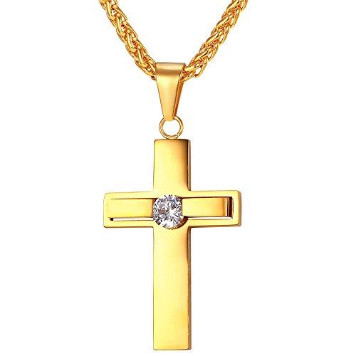 U7 Religious Jewelry Stainless Pendant