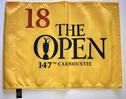 2018 British Open Flag Carnoustie golf tournament pin flag pga new