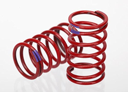 Traxxas 7246 1/16 Scale GTR Shock Spring (3.2 Purple Rate) (pair)