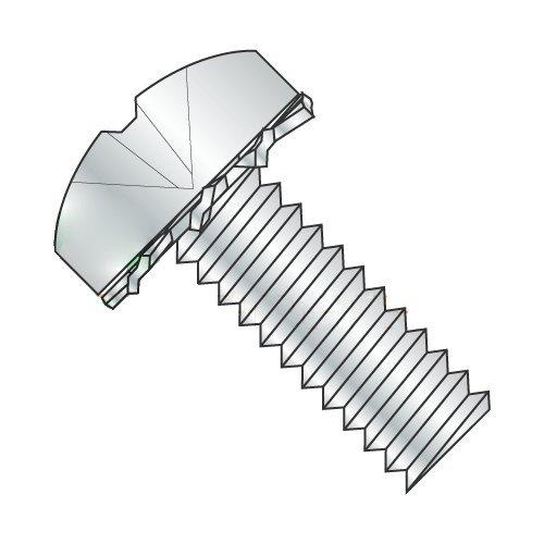 6-32 x 3/16'' SEMS Screws/External Tooth Washer/Phillips/Pan Head/Steel/Zinc (Carton: 10,000 pcs)