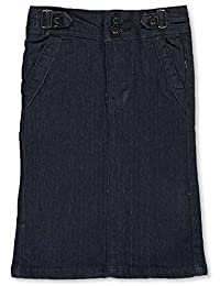 No Fuze Girls' Denim Pencil Skirt