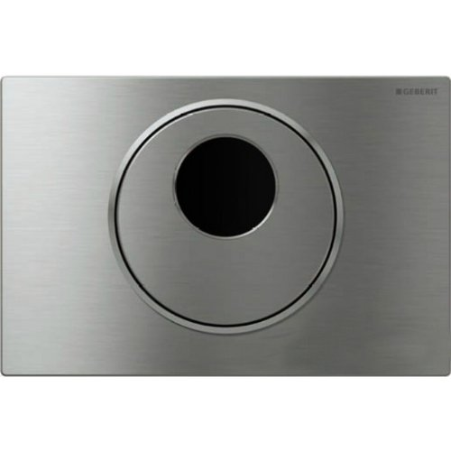 Geberit 115.890.SN.5 Sigma10 AC Hands Free Flush Plate, Stainless Steel by Geberit