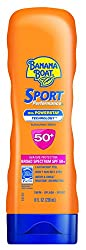 Banana Boat Sunscreen Sport Performance Broad Spectrum Sun Care Sunscreen Lotion - Spf 50, 8 Ounce