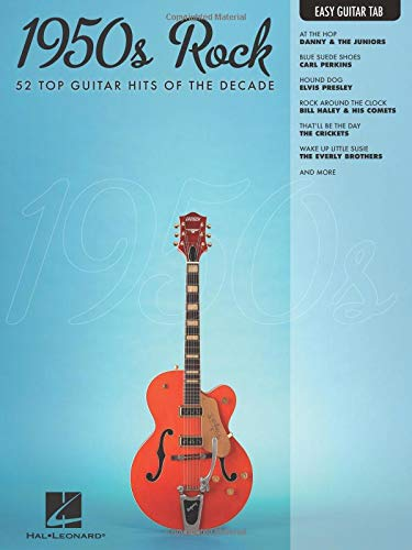 1950s Rock: Easy Guitar with Notes & Tab Easy Guitar Tab: Amazon ...