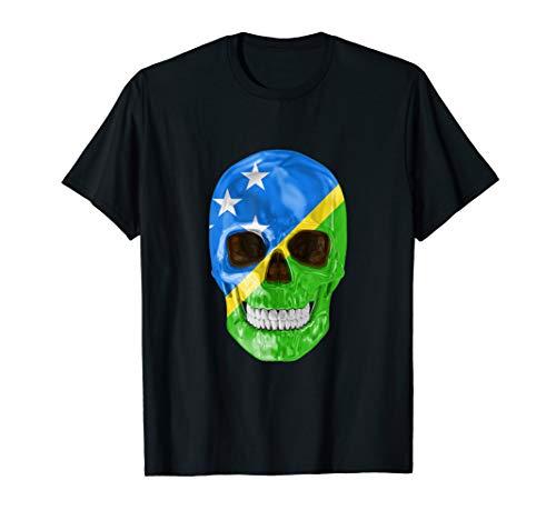 - Skull Flag Of Solomon Islands Shirt