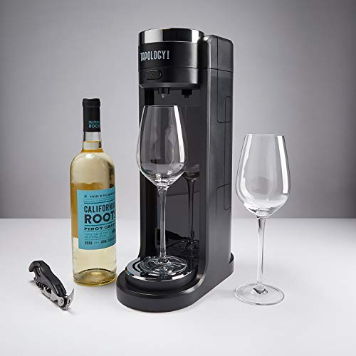 Tapology Connoisseur Wine Aerating Tap, Black by Tapology (Image #5)