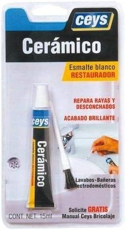 ceys 505101 Adhesivo restaurador ceramico, 0 W, 0 V, Blanco