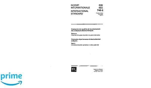 Iec 60746 5 Ed 1 0 B 1992 Expression Of Performance Of