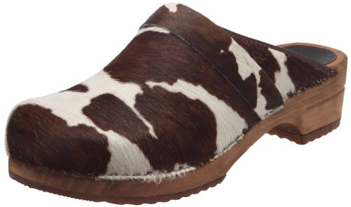 Sanita Mens Wood Casper Cow Brown