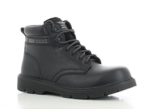 Safety Jogger Schuhe Premium-Sicherheitsverschluss Schwarz