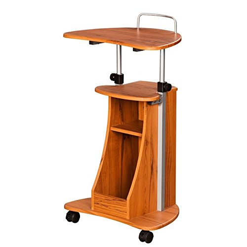 Scranton & Co Mobile Laptop Stand in Honey by Scranton & Co