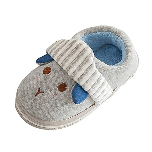 Mandy Slippers for Baby Girls Boys, Winter Home Slippers Cartoon Warm Indoors Shoes ()