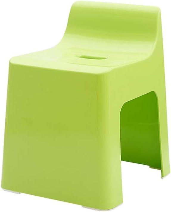 Beauty Thicken Plastic Non-Slip Bath Stool Bathroom Shower Stool