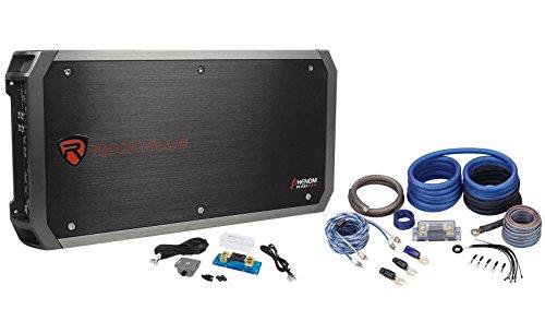 Rockville RXD-M4 6000 Watt/3000W RMS Mono Car Amplifier+100%