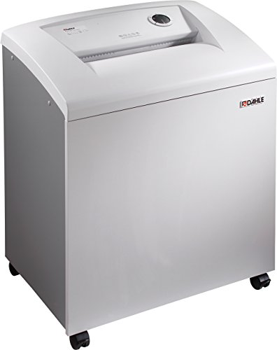 Dahle 40506 Small Department Shredder, 31-36 Sheet, Strip Cut, Shreds CDs, Staples, Paper Clips, Credit Cards, Security Level P-2 by Dahle