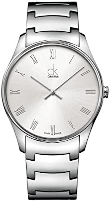 Jacob Time K4D2114Z Calvin Klein Ck Classic Stainless Steel Mens Watch
