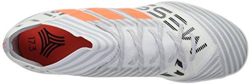 Adidas Originals Mens Nemeziz Messi Tango 17,3 In Voetbalschoen Wit / Zonne-oranje / Zwart
