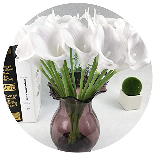 3pcs/lot Real Touch Calla Artificial Flowers Party Home Decor Decoration Accessories Fake Flower 52304,K