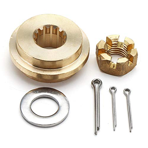 Propeller Hardware Kits Thrust Washer/Nut/Cotton Pin For Tohatsu Nissan 9.9-20HP -
