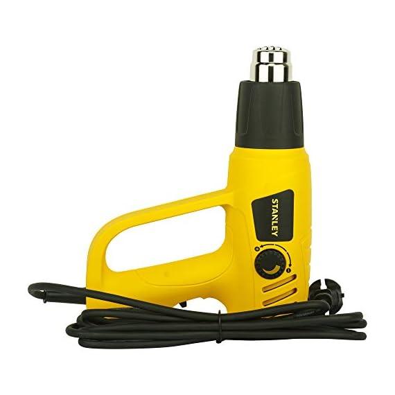 STANLEY STXH2000 2000W Variable Speed Heat Gun (Yellow and Black) 5