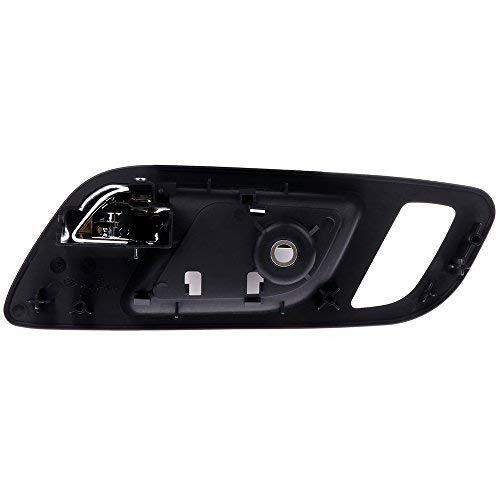 cciyu Door Handle Interior Front Left Side Door Handle Replacement fit for 2007-2013 Chevy GMC 15935951 121681-5210-1148296371