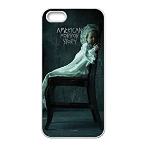 J-LV-F Diy American Horror Story Selling Hard Back Case for Iphone 5 5g 5s