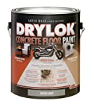 Drylok Concrete Paint D Gray Floor, Garage