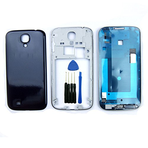 Blue Full Housing Cover Case Replacement Repair Part for Samsung Galaxy S4 i9500