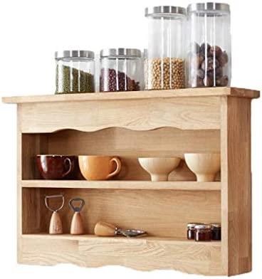 BZM-ZM フラワークリエイティブロッカークローゼットキッチンはソリッドウッドクローゼットの壁のバスルームの装飾多機能シェルフラックラックスタンド
