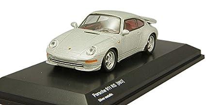 Kyocera dealer original 1 / 64 Porsche 911 993 RS Silver metallic