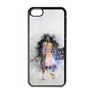 iPhone 5c Cell Phone Case Black Kobe Bryant Phone Case Cover Fashion Plastic XPDSUNTR15863