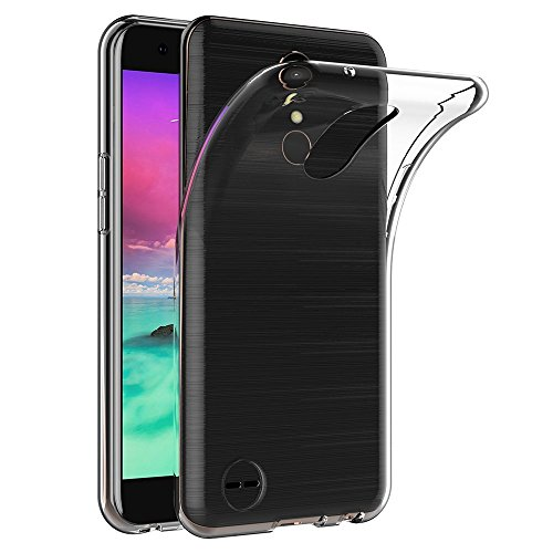 Case for LG X Power 2 / LG K10 Power (5.5 inch) MaiJin Soft TPU Rubber Gel Bumper Transparent Back Cover