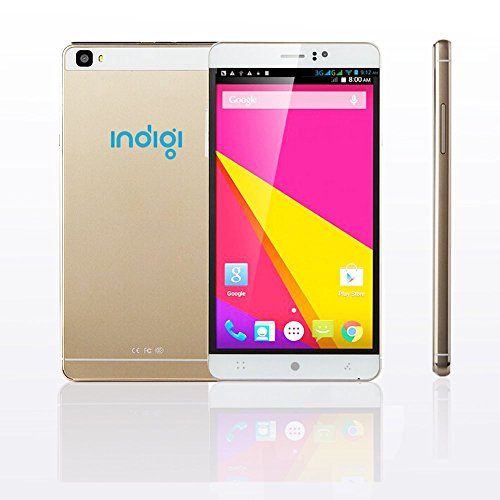 2016 International Unlocked Indigi M8 3G GSM Smartphone 6'' Metal Frame Android 5.1 Lollipop WiFi Camera by inDigi