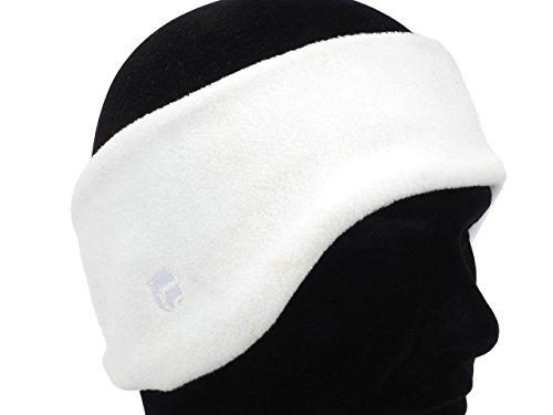 Cairn - Ears fleece polaire blanc - Bandeau hiver - Blanc - Taille Unique